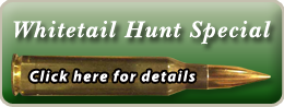 whitetail hunt specials